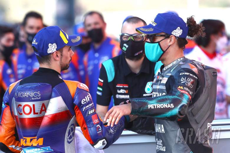 Miguel Oliveira Franco Morbidelli MotoGP race, Portuguese MotoGP. 22 November 2020