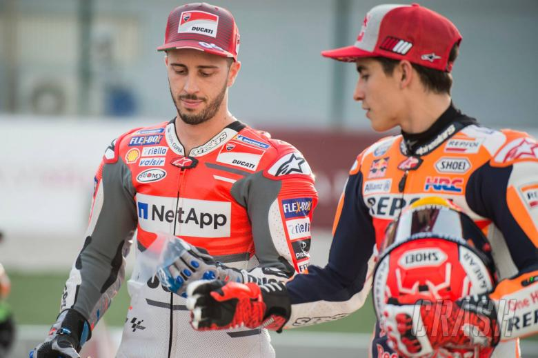 Marquez: Dovi will be a great rival, again...