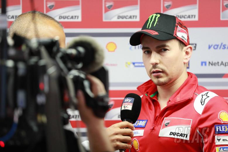 Lorenzo: I'll continue for two more years