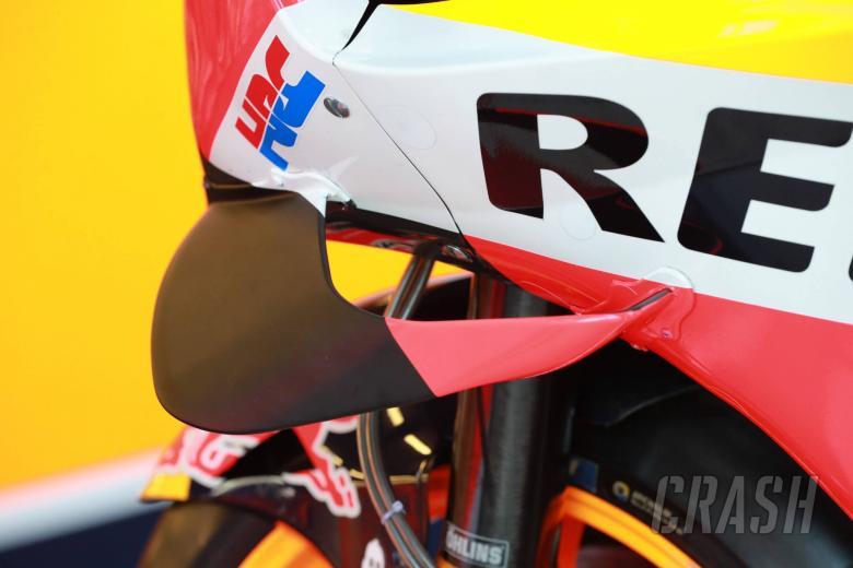 Marquez's Honda fairing, French MotoGP 2018