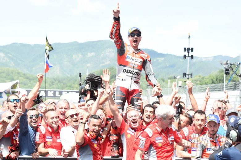 Lorenzo, Italian MotoGP race 2018