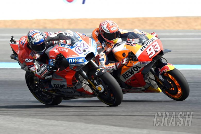 Marquez, Dovi draw Schwantz-Rainey comparisons