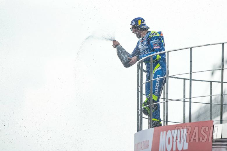 Rins: First MotoGP win, more Suzuki power targets before title