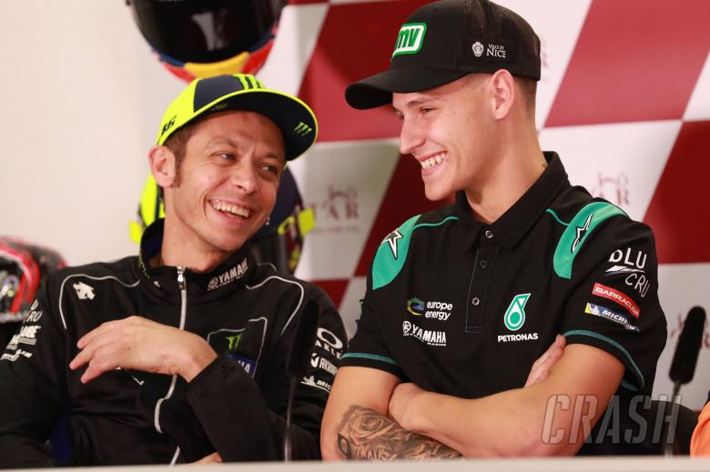 """""""I hope the Italian fans aren't angry"""" – Quartararo on replacing Rossi"""