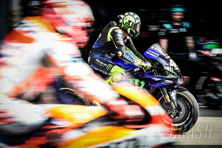 Rossi, let out in front of Marquez, Argentinian MotoGP 2019
