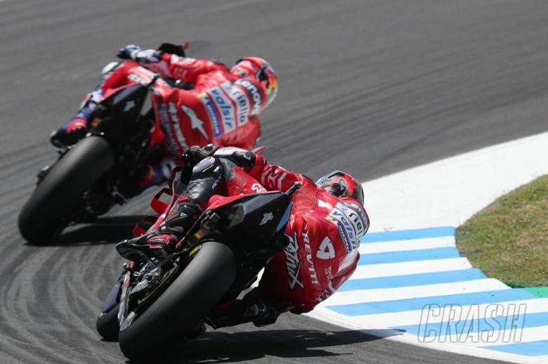 Ducati: A Positive, hectic and bizarre calendar
