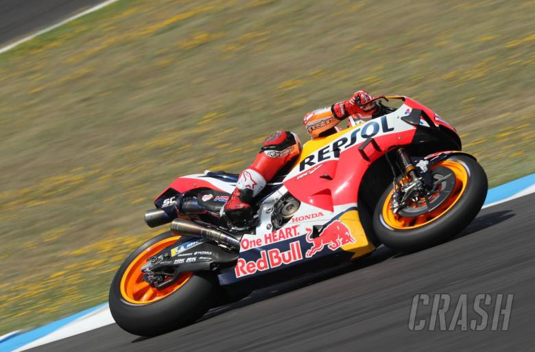 Marquez leads close session as MotoGP returns at Jerez