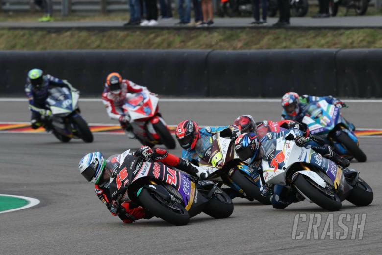 Niki Tuuli. MotoE race. German MotoGP 2019