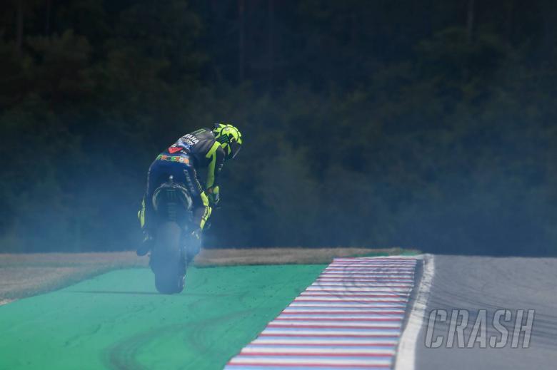Rossi: Clutch grab prevented oil dump