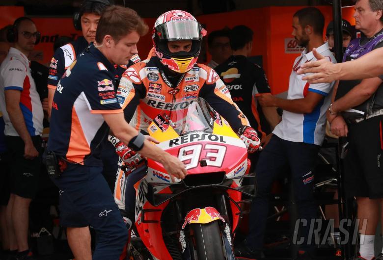 Marquez explains chassis dilemma, Dovi 'fastest'