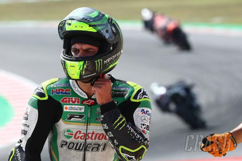 Crutchlow: Fall from 12th 'a joke', Marquez 'miracle'