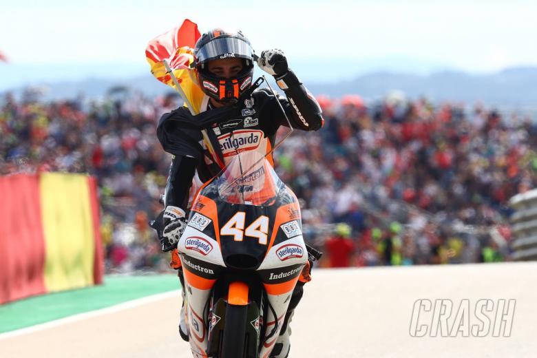 Canet, Moto3 race Aragon MotoGP 2019