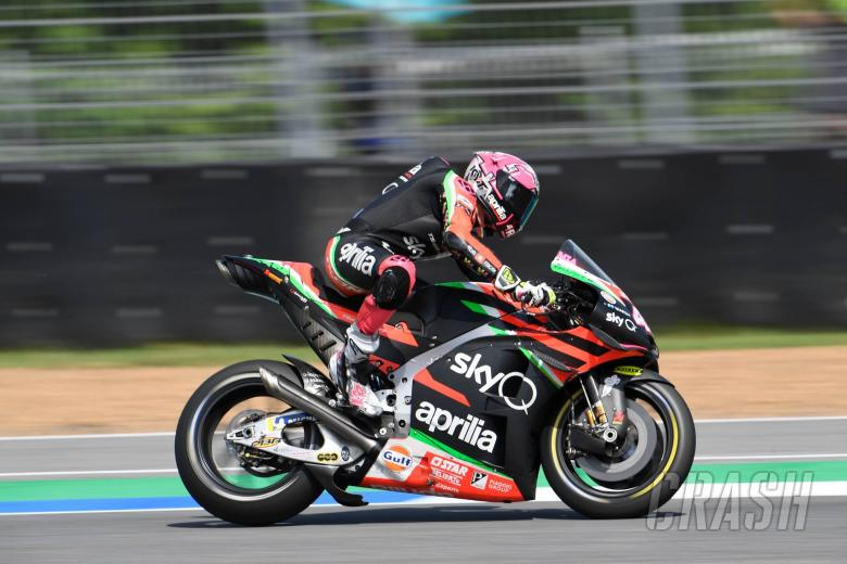 Espargaro: Shame for Aprilia, I'm riding better than ever