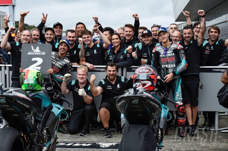 Morbidelli, Quartararo, Japanese MotoGP 2019