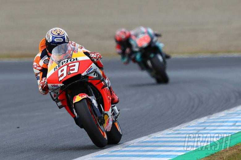 Marquez given another fuel fright with Repsol Honda