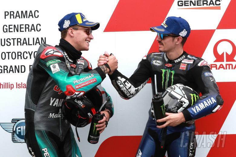 Quartararo replaces Rossi at Yamaha in 2021