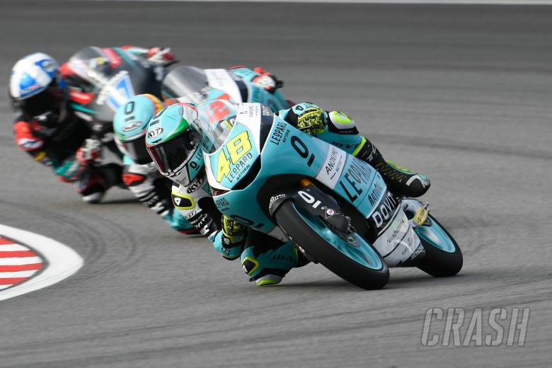 Moto3 Sepang: Superb Dalla Porta makes it three in a row