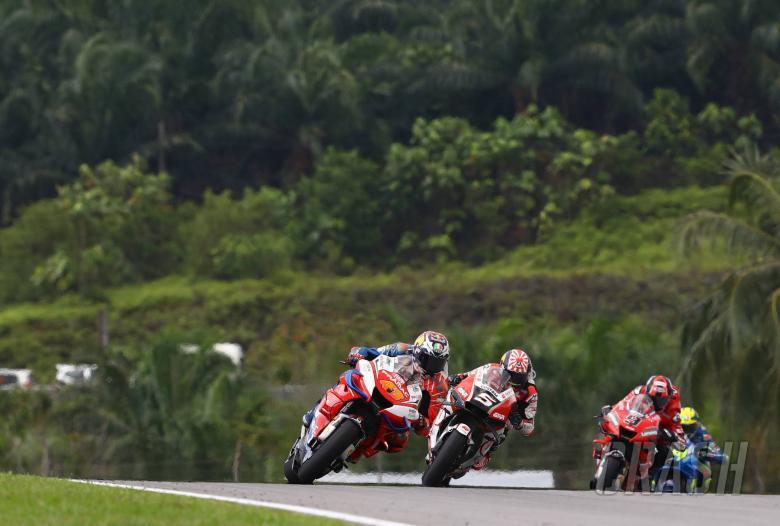 Miller, Zarco, Malaysian MotoGP . 3 November 2019