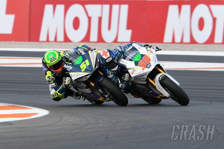 Smith, Granado, Valencia MotoE race 2019