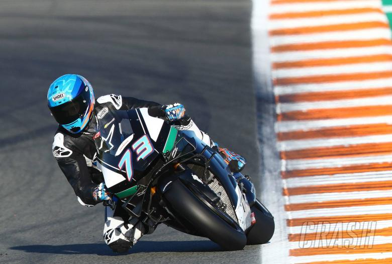 Alex Marquez: 'Feeling good' after 'rookie mistake'