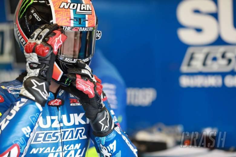 Rins 'working really hard' for Jerez return as Suzuki regroups