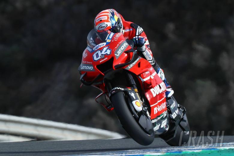 Dovizioso, Jerez MotoGP tests, November 2019