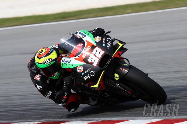Lorenzo Savadori, Sepang MotoGP test, Feburay 2020