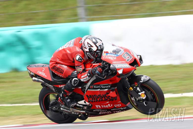 Ducati ride-height system helps 'attacking, defending'