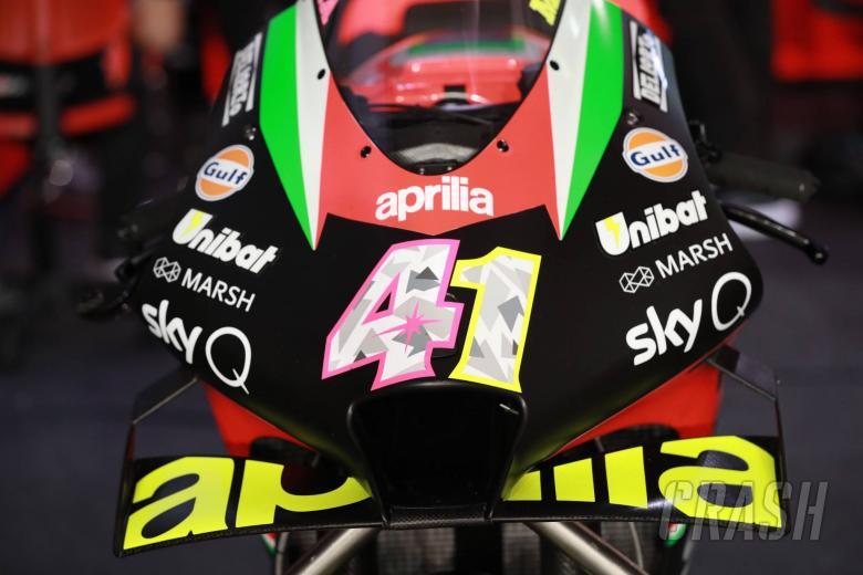 Aleix Espargaro's Aprilia, Qatar MotoGP test, 22 February, 2020