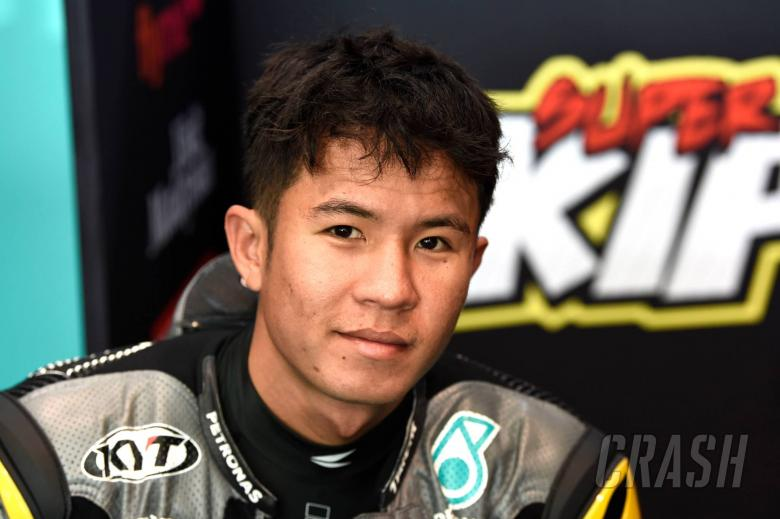 Idham Khairul Pawi, Qatar Moto3, 6 March 2020
