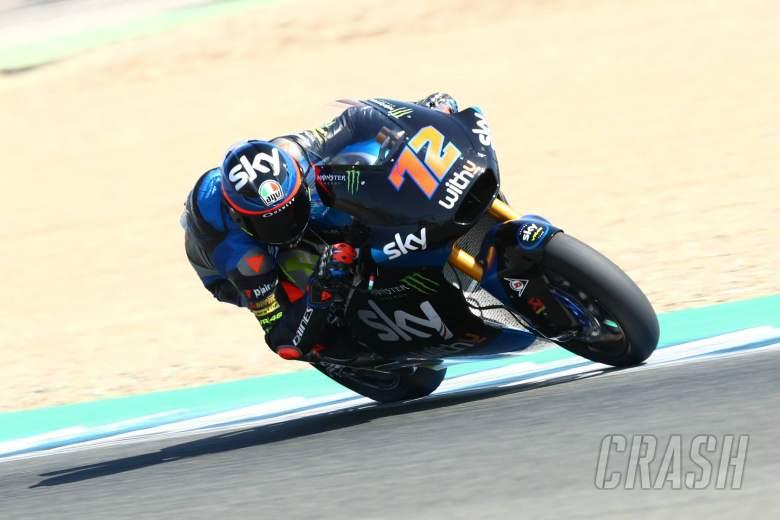 Bezzecchi fastest for first Moto2 pole, at Jerez - Andalucia GP 2020