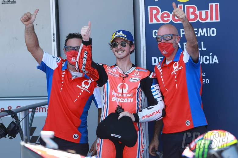 Bagnaia 'happy to remain with Ducati for next year'