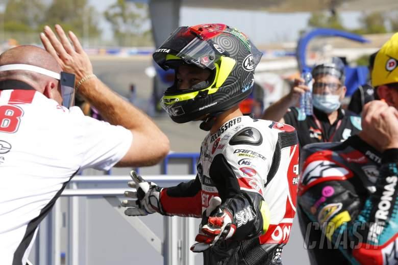 Suzuki, wins Moto3 Andalucia race in Jerez