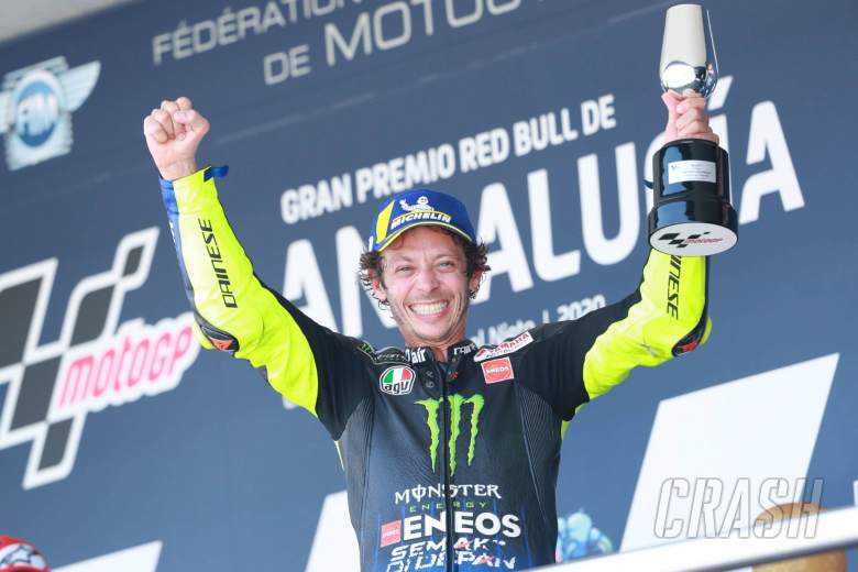 Valentino Rossi, Andalucia MotoGP 2020