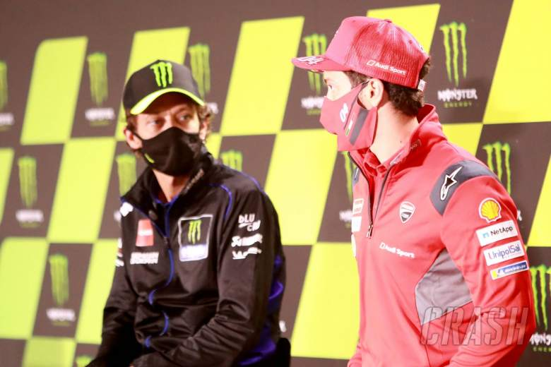 Dovizioso silent as Ducati talks rumble on, Rossi offers up opinion