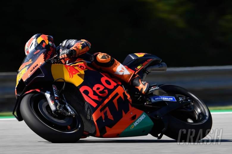 Pol brushes off 'best bike' talk, KTM tests 'in rules'