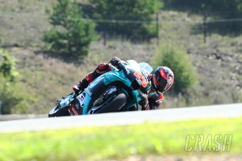 Last gasp Quartararo punches in top FP2 time for Petronas Yamaha 1-2
