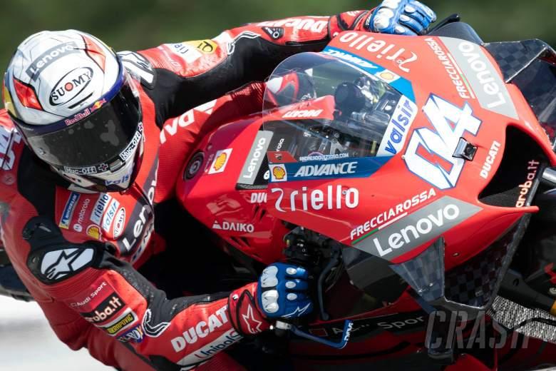 Dovizioso focused on race pace as 2019-spec Zarco flies Ducati flag