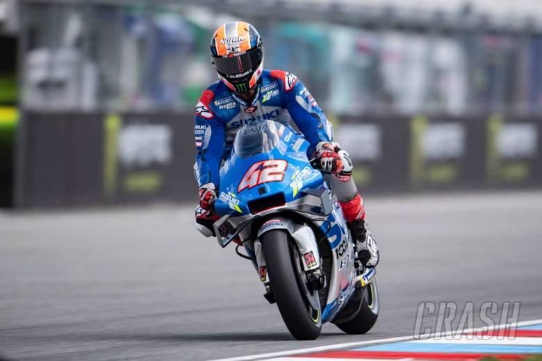 Brno MotoGP - Qualifying (1) Results