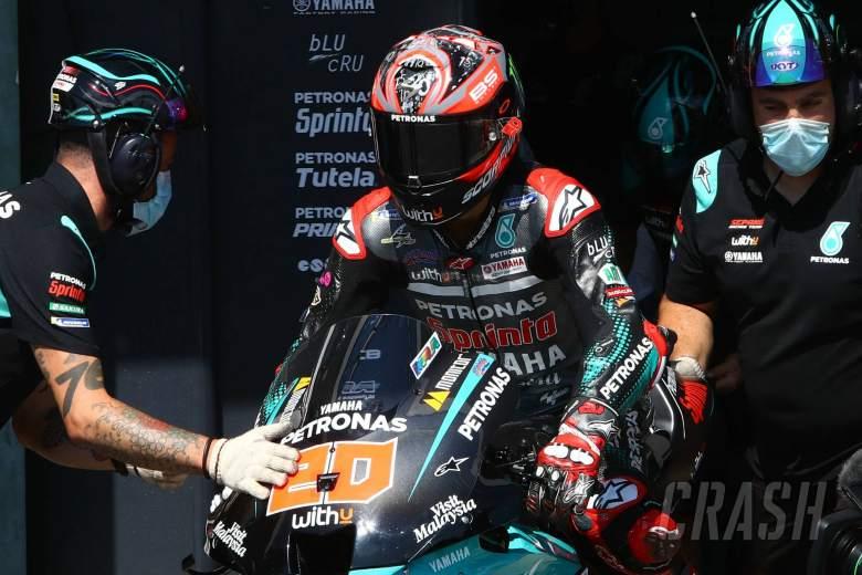 President Ramaphosa congratulates Brad Binder on MotoGP victory