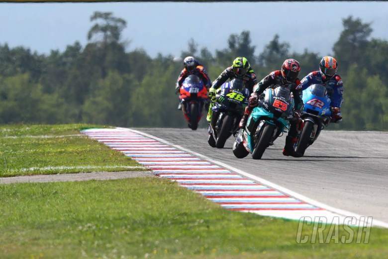 Quartararo: Hardest race, on the limit, KTM 'tyre test'
