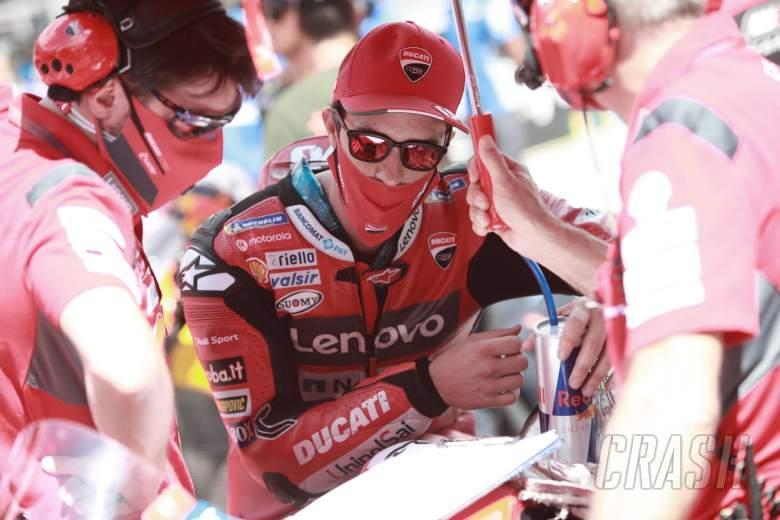 Andrea Dovizioso , Austrian MotoGP . 16 August 2020