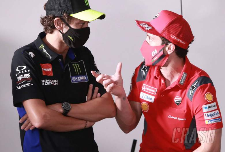Rossi, Dovi call on stewards to be stricter on incidents, track limits