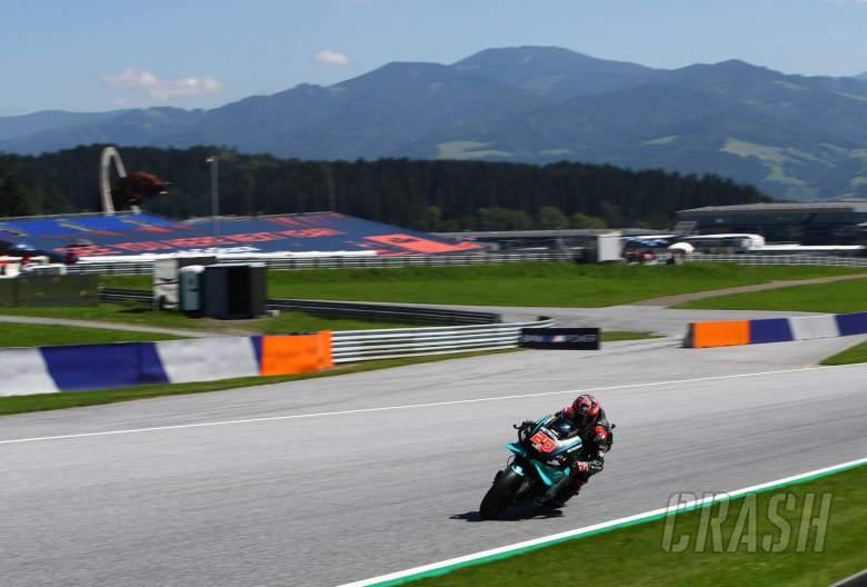 Fabio Quartararo Styrian MotoGP. 21 August 2020