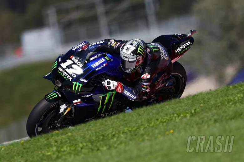 Vinales tops San Marino MotoGP FP1 as Yamaha leads Aprilia at Misano