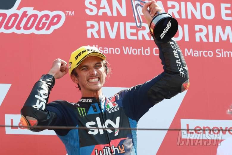 Luca Marini , Moto2 race, San Marino MotoGP, 13 September 2020