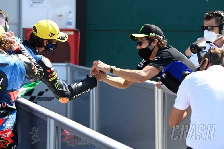 Valentino Rossi, Luca Marini, San Marino Moto2 Race. 13 September 2020