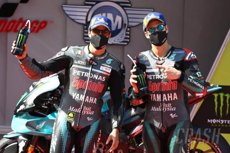 Franco Morbidelli, Fabio Quartararo, Catalunya MotoGP. 26 September 2020
