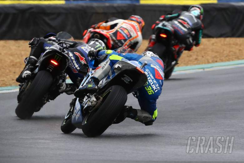 Joan Mir , MotoGP race, French MotoGP. 11 October 2020