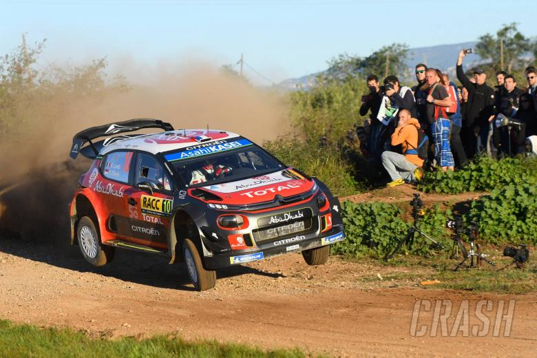 Loeb rolls back the years with Spain victory